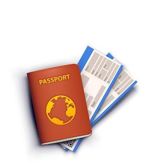 Drapeau passeport