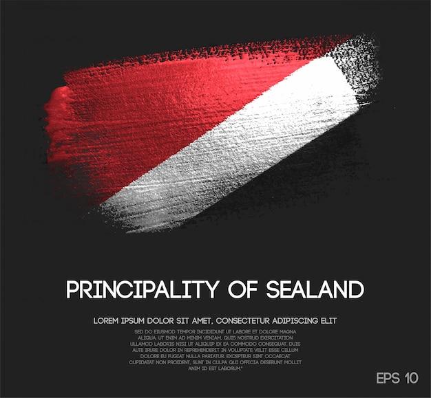 Drapeau de la principauté de sealand