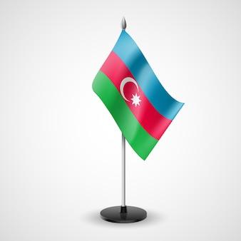 Drapeau de table de l'azerbaïdjan