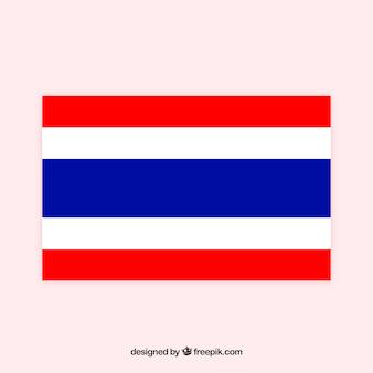 Drapeau de la thaïlande