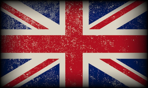 Drapeau vintage britannique