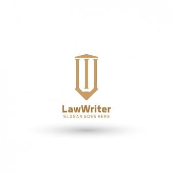 Droit logo template