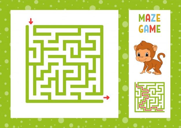 Drôle de labyrinthe.