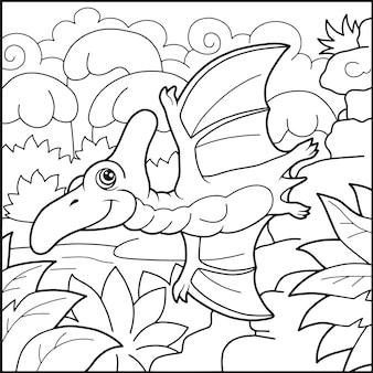 Drôle de ptérodactyle