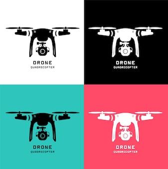 Drone avec caméra d'action