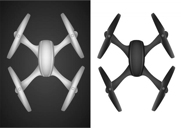 Drone quadricoptère mouche sans fil