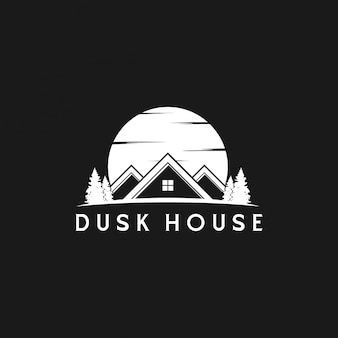 Dusk home silhouette design inspiration