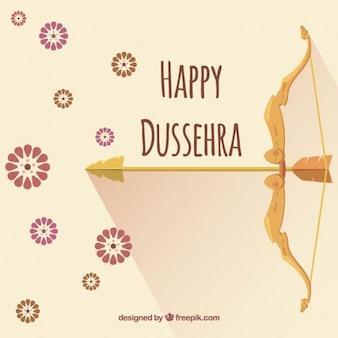 Dussehra fond flèche et l'arc