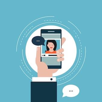 E-learning, webinar design pour les bannières et les applications web