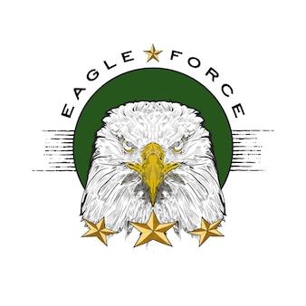Eagle avec force de l'aigle titre.