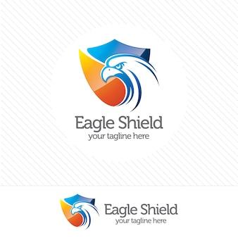 Eagle shield logo de sécurité