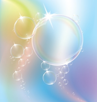 Eau à bulles