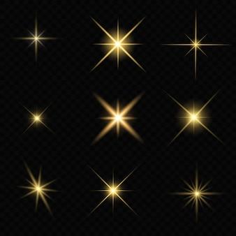 Éblouissement étoile pétillant