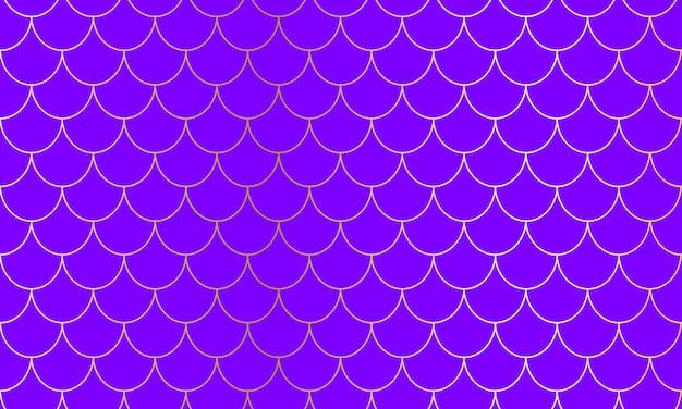 Écailles de sirène. squama de poisson. motif kawaii. fond d'aquarelle. motif de sirène. impression d'échelle de couleur.