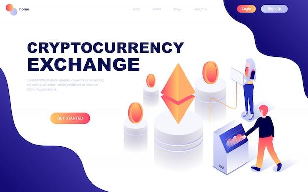 Échange de cryptomonnaie