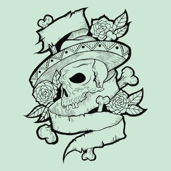 Échantillon de tatouage