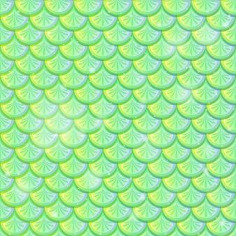 Échelle de poisson de fond transparente