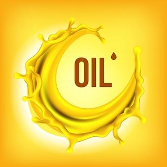 Éclaboussure d'huile