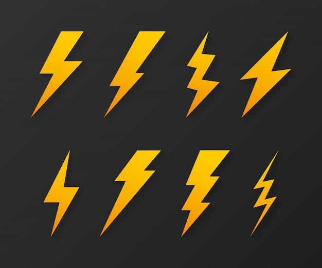 Éclair. coup de tonnerre, expertise en grève d'éclairage. .