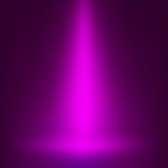 Éclairage ponctuel de scène. lumière magique.