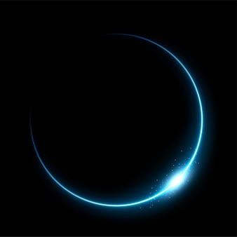 Éclipse bleue