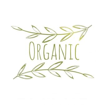 Eco label biologique