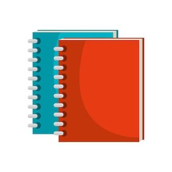 École d'ordinateur portable isolé icône conception d'ordinateur vectoriel