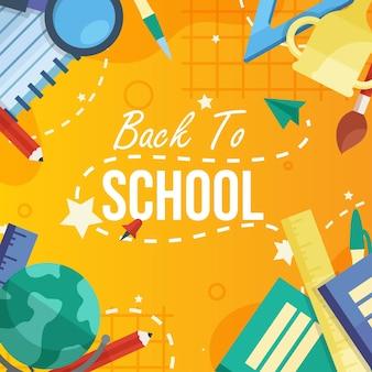 L'école a ouvert le semestre. les élèves sont revenus pour étudier des matières telles que l'art, le sport, les mathématiques et les sciences.