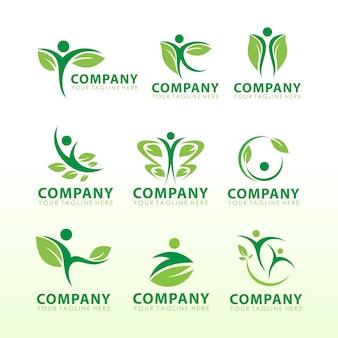 Écologie logo package gratuitement