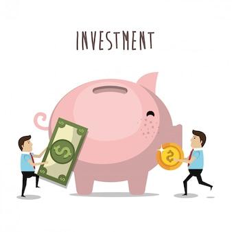 Économie d'argent et investissement