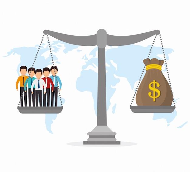 Économie mondiale, argent et affaires
