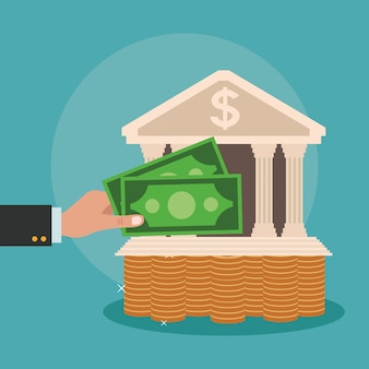 Économies d'argent et investissement