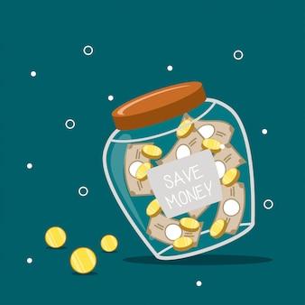 Économiser de l'argent illustration
