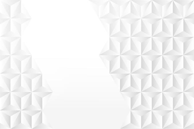 Économiseur d'écran abstrait dans un style de papier 3d