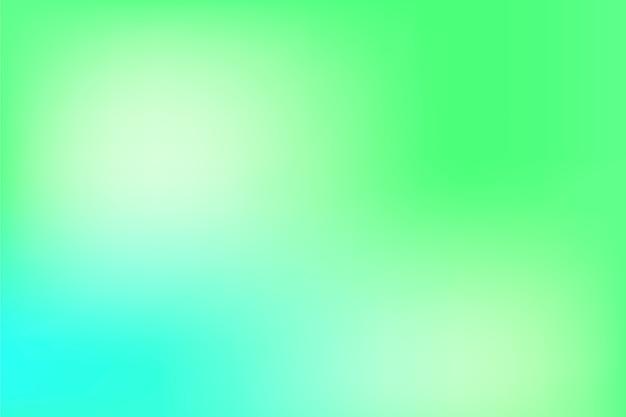 Économiseur d'écran dans les tons verts