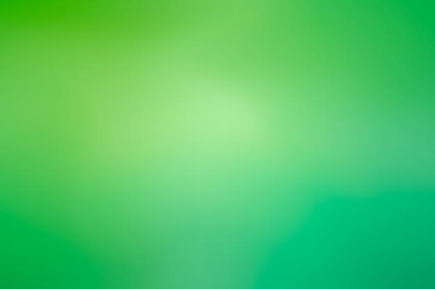 Économiseur d'écran dégradé dans les tons verts