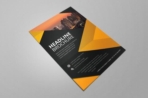 Ecorcheuse flat business orange