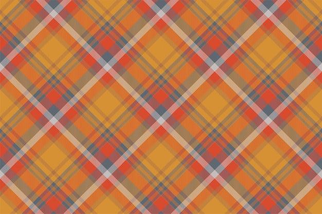 Écossais écossais motif écossais sans couture