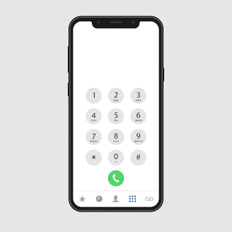 Écran d'appel téléphonique