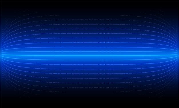 Écran de cinéma led pour la présentation du film blue light abstract