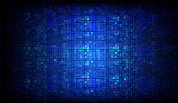 Écran de cinéma à led pour la présentation de films. technologie abstraite légère