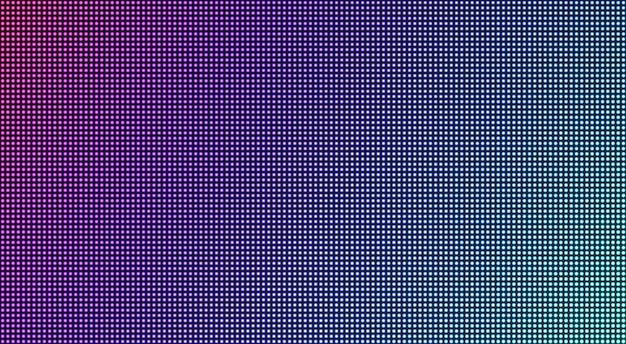 Ecran led. fond de télévision texturé en pixels. écran lcd. affichage numérique. effet diode électronique
