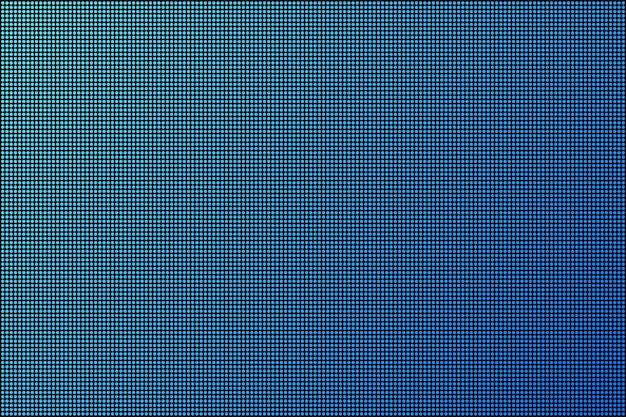 Ecran led. télévision de fond de point rvb. illustration vectorielle de stock.