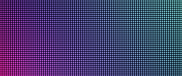 Ecran led. la texture de la télévision. conception de pixels. écran lcd. affichage numérique.