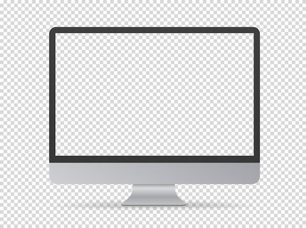 Écran d'ordinateur moderne