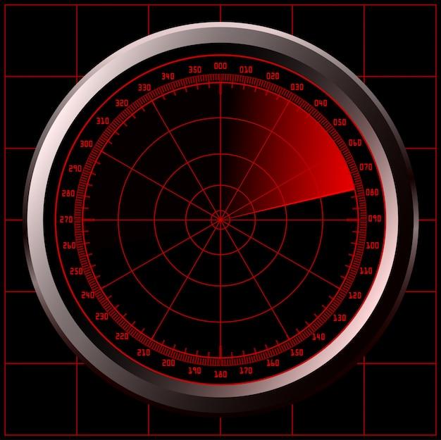 Écran radar (sonar)