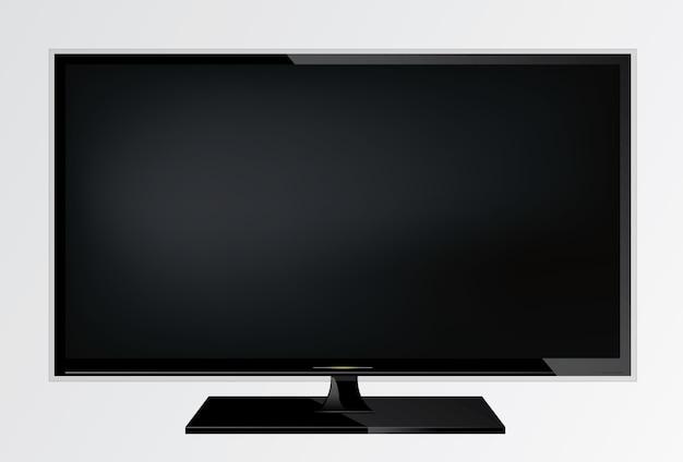 Écran de télévision. lcd plasma.