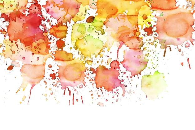 Écran de veille abstrait peint à la main