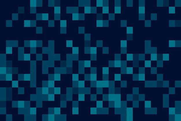 Écran de veille abstrait pixel pluie