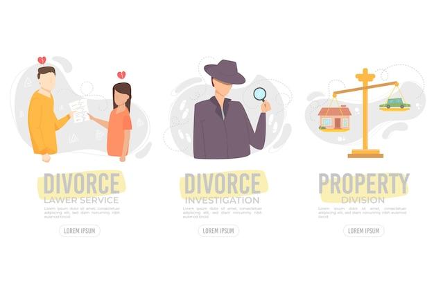Écrans d'intégration de la médiation en divorce